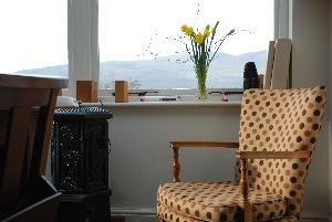 Relax in a cosy corner with a lovely view