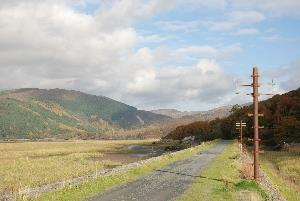 Flat Mawddach Trail ideal for walking or cycling