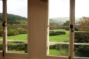 View form the bedroom