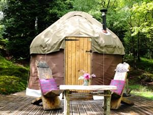 Yurt for two