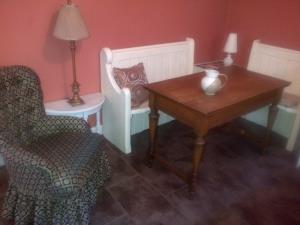 Seating area in Kitchen at Laverick Steps Whitby